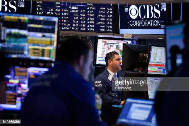 Trading On The Floor Of The Nyse As Stock Market Soars