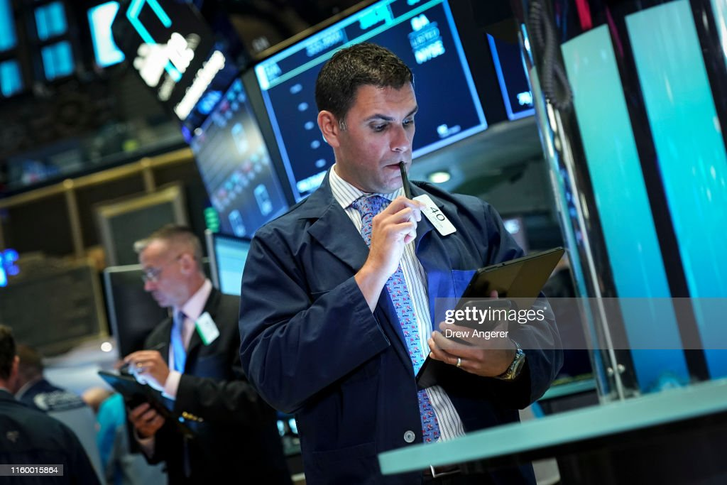 U.S. Markets Open One Day After Dramatic Losses : News Photo