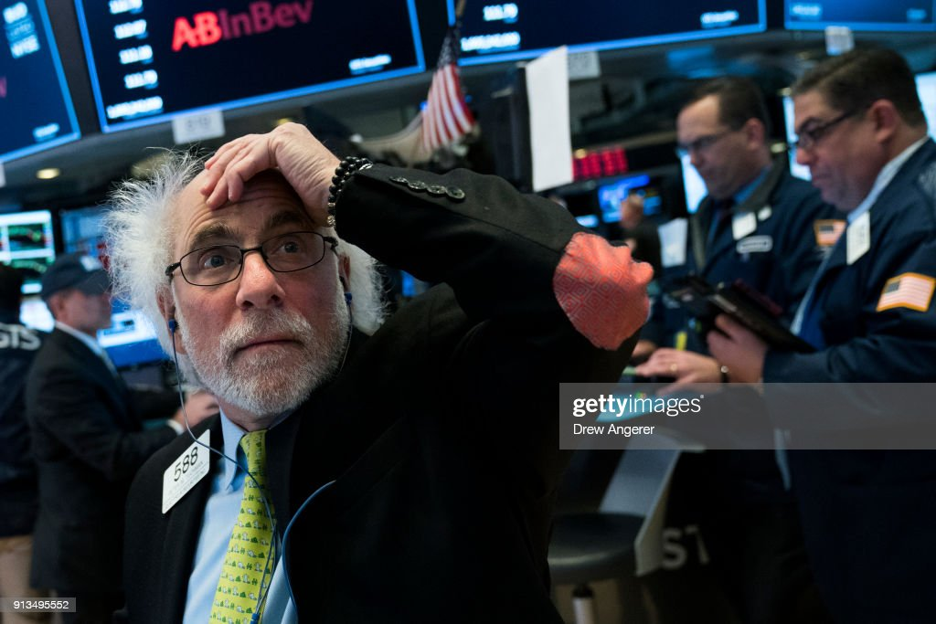 Dow Jones Industrials Closes Down Over 600 Points : News Photo