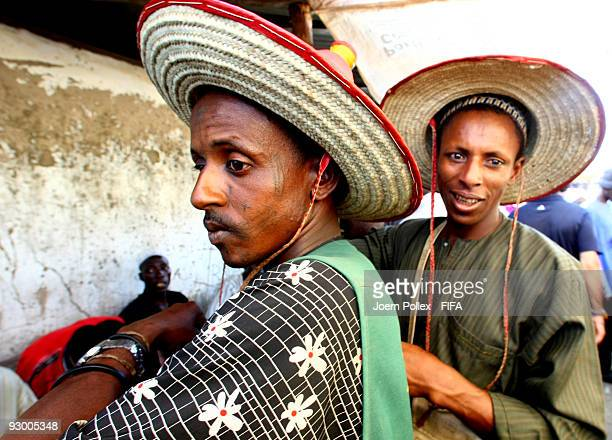 Traders are seen at a market on November 07 2009 in Bauchi Nigeria