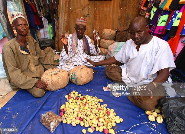 Traders are seen in a market on November 07 2009 in Bauchi Nigeria