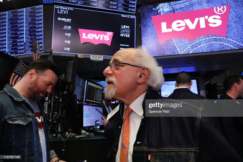 NY: Stock Market Opens On Day Of Levi Strauss IPO