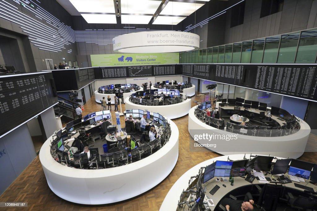 DAX Market Reaction as Europe Stock Rebound Fizzles : Nachrichtenfoto