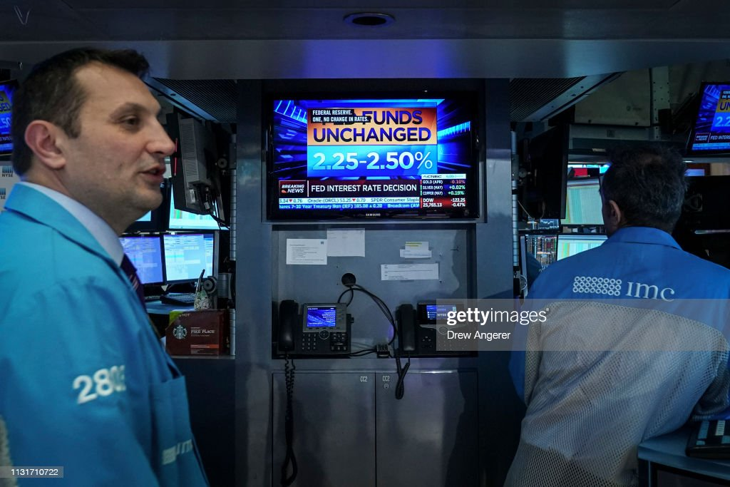 Markets React After Federal Reserve Interest Rate Announcement : Photo d'actualité