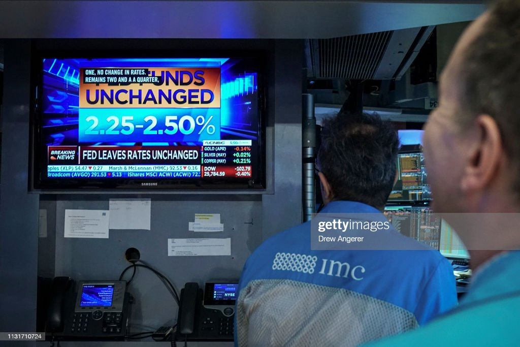 NY: Markets React After Federal Reserve Interest Rate Announcement
