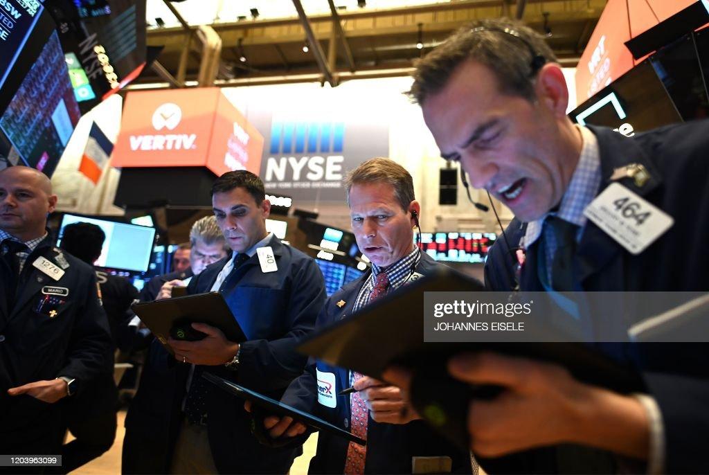 US-ECONOMY-NYSE-markets-market : News Photo