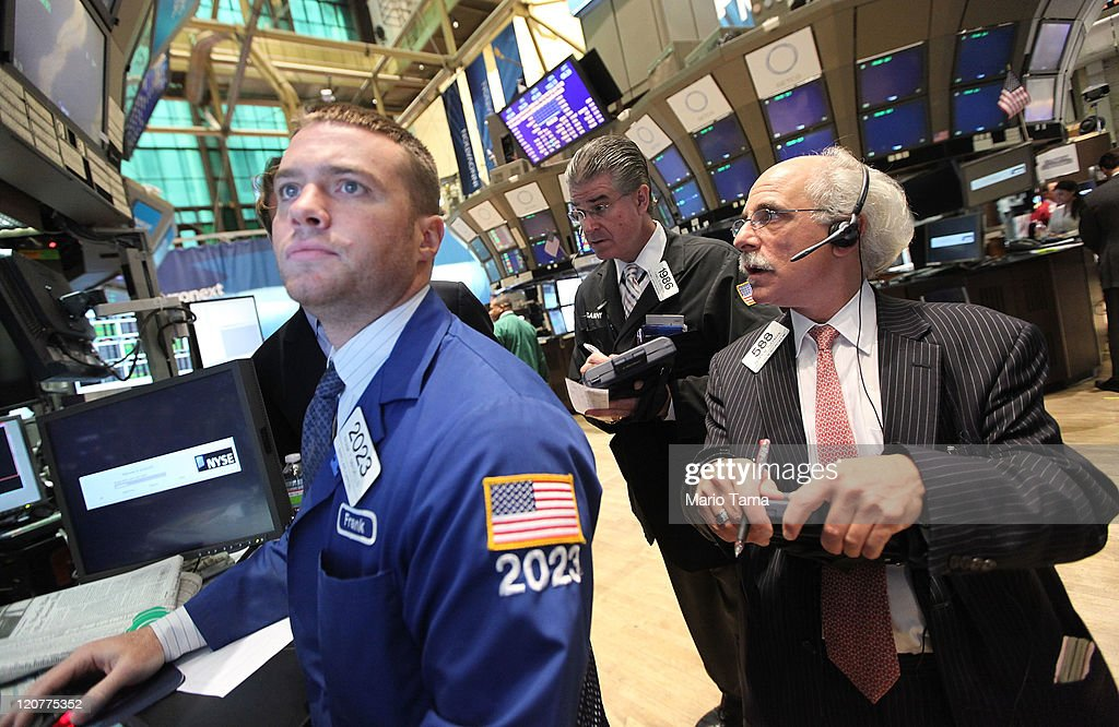 Wall Street Opens After Major Rebound On Previous Day : News Photo