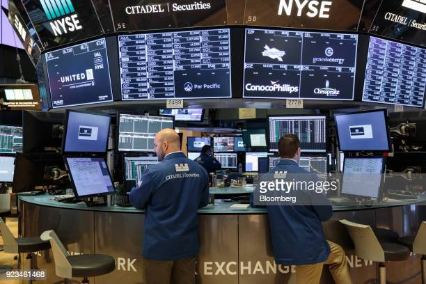 60 Top Trading On The Floor Of The Nyse As U S Stocks Rise With
