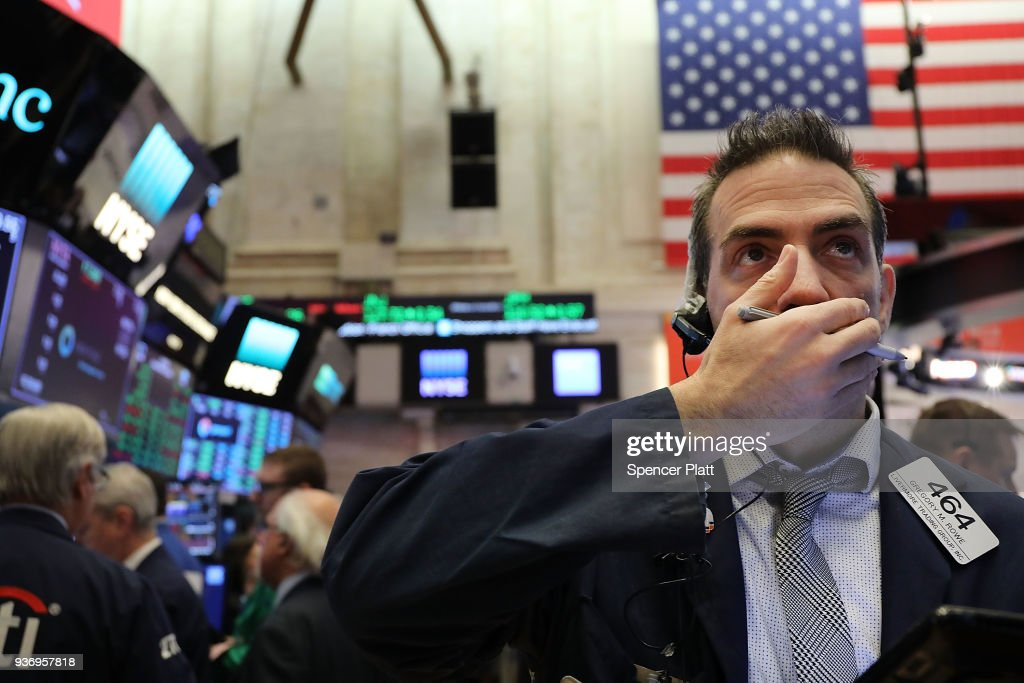 NY Stock Exchange Opens One Day After Dow Plunges In Reaction To Tariffs