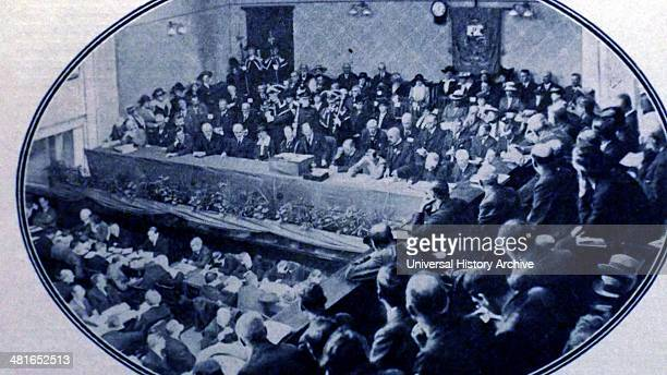 Trades Union Congress at Derby England 1918