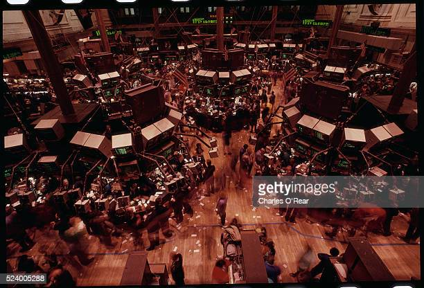 Trading Floor of New York Stock Exchange