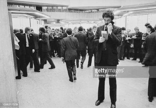 Trading in the London Stock Exchange, UK, 29th March 1979.