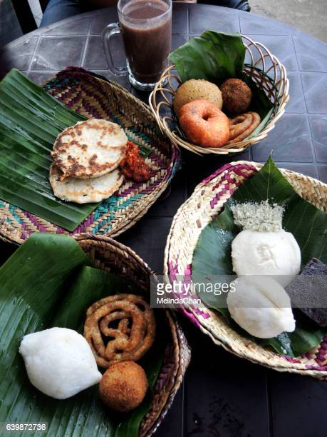 Tradition Breakfast served in Sri Lanka