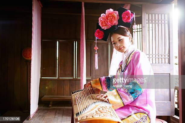tradition - chinese music stock pictures, royalty-free photos & images
