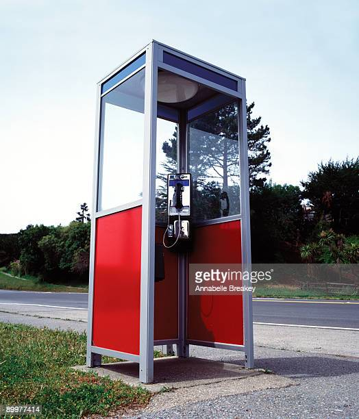 Traditional American Phone Booth