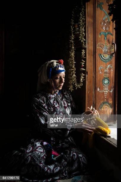 Traditional anatolian woman