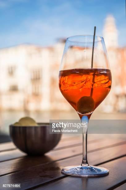 Traditional aperitif in Venice