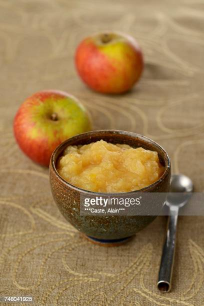 Traditional apple compote
