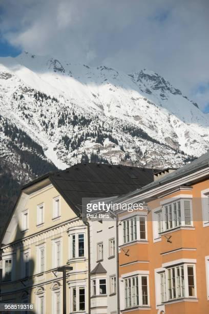 Traditional Architecture in Innsbruck, Austrian Tyrol