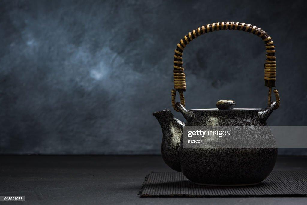 Traditional Asian or Japan Tea Tea Pot : Stock Photo