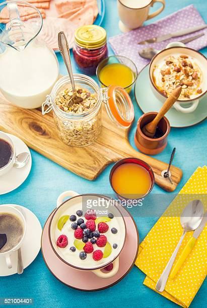 伝統的なベルギーの朝食