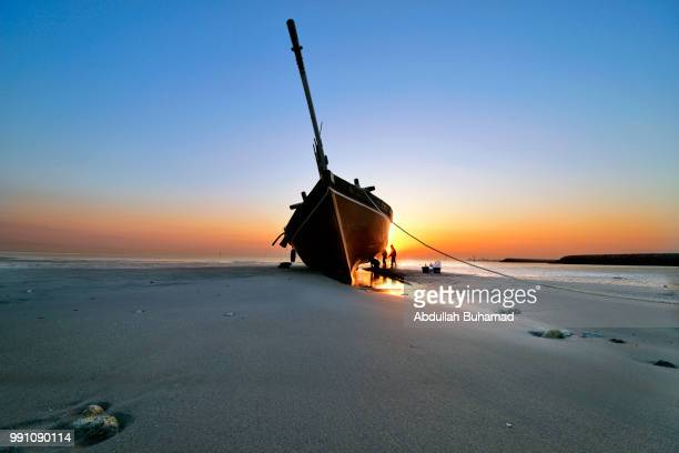 Traditional boat in Kuwait