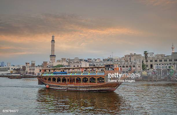 Traditional boat on Dubai Creek