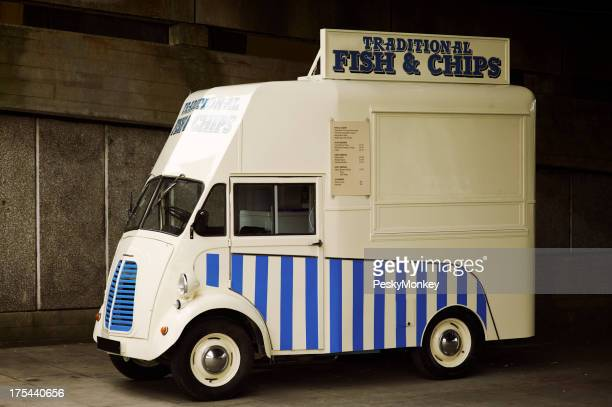 Traditional British Fish and Chips Truck