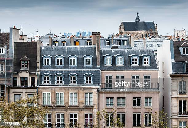 Traditional Buildings in Paris