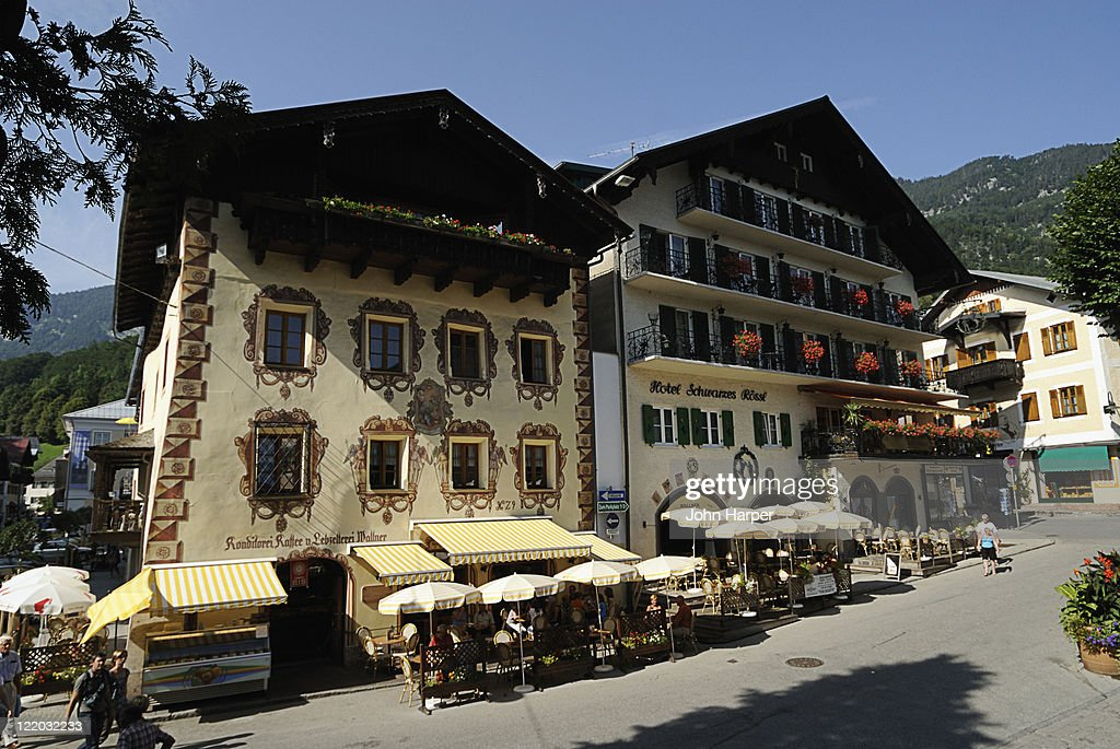 Traditional buildings st wolfgang town salzkammergut austria stock traditional buildings st wolfgang town salzkammergut austria stock photo sciox Images