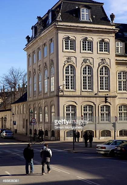 CONTENT] Traditional buildings Street scene Copenhagen Denmark