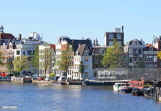 Traditional bungalows in Amsterdam