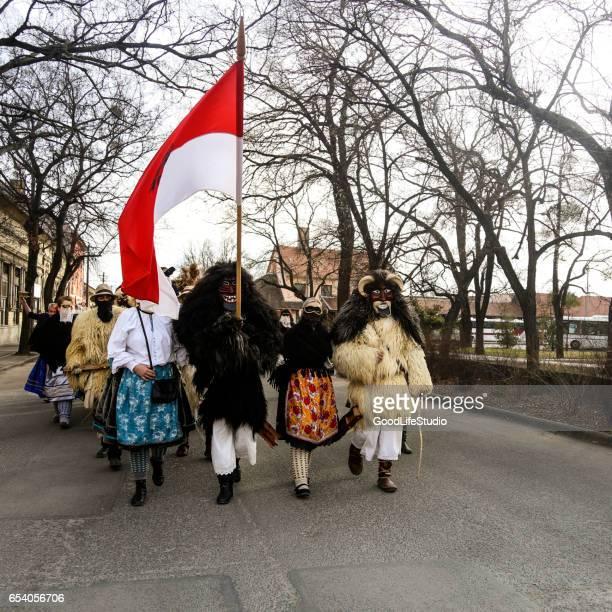 Busojaras Volksfest Mohacs