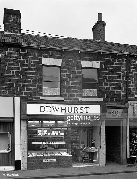 Traditional butcher's shop in the South Yorkshire town of Mexborough 1962 The shop traded until 1994 after the collapse of the Vesty empire finally...