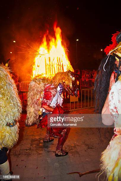 Traditional carnival in Spain.