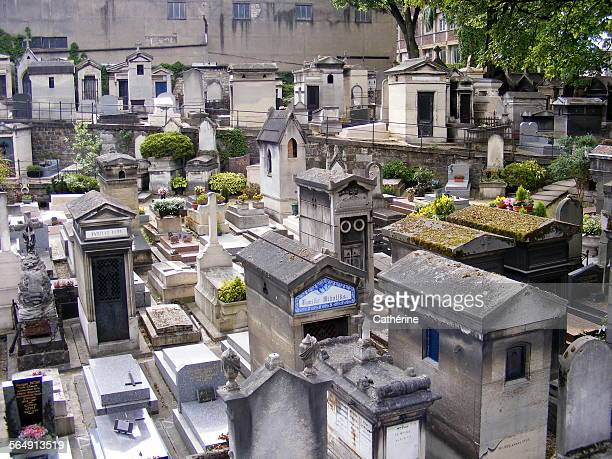 Traditional Cemetery in Montmartre, Paris