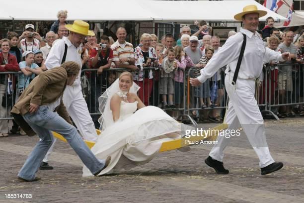 Traditional Cheese Market of Alkmaar 02 Setember,2005 - PHOTO BY PAULO AMORIM