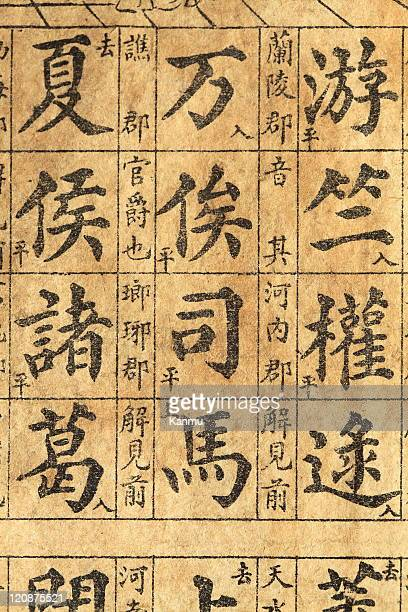traditional chinese ancient books - chinese language stock pictures, royalty-free photos & images