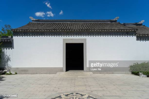 traditional chinese architecture - liyao xie imagens e fotografias de stock
