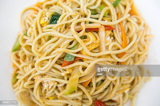 Traditional Chinese Food Fried Noodles
