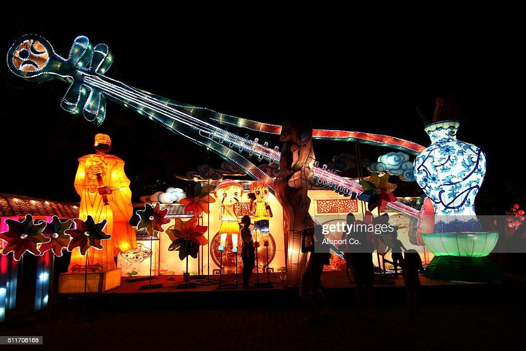 Lantern Festival In Kuala Lumpur : News Photo