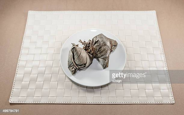Traditional Chinese rice dumplings