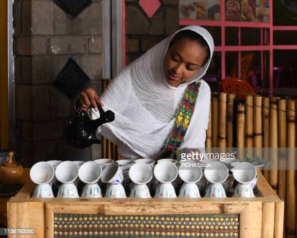 traditional coffee ceremony - ceremony stock pictures, royalty-free photos & images