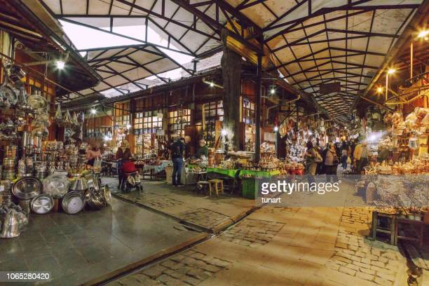 Chaudronnier traditionnel Bazar de Gaziantep, Turquie