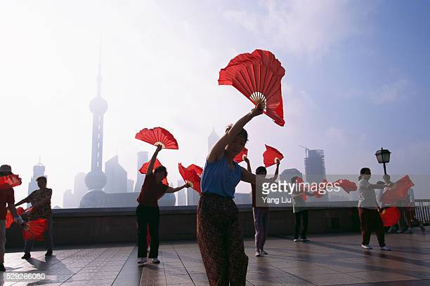 Traditional Dance at The Bund