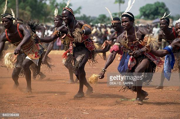 Traditional dance at the harvest festival near Kara Togo