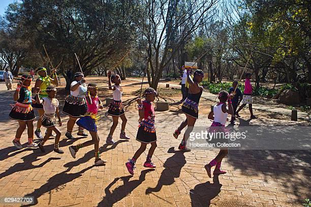 Traditional Dancers at Credo Mutwa Cultural Village Soweto