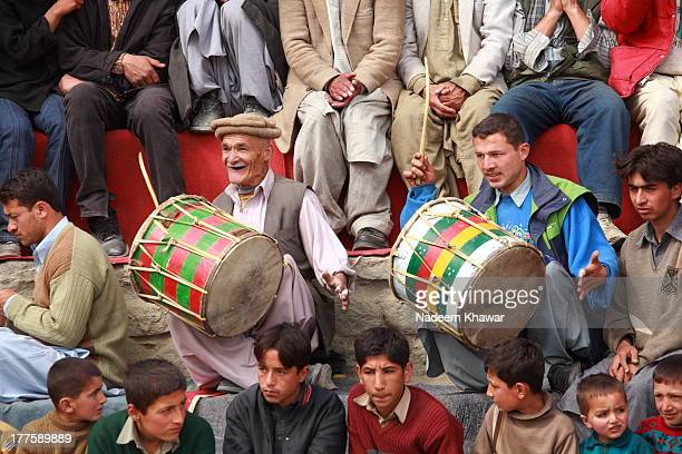 CONTENT] Traditional drum beaters are beating the drums at the Local festival which was held at Karim Abad Hunza valley Purpose of festival was to...