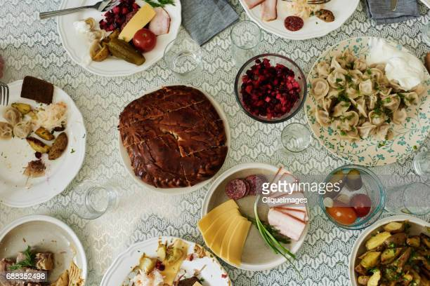 traditional eastern european cuisine - cliqueimages - fotografias e filmes do acervo