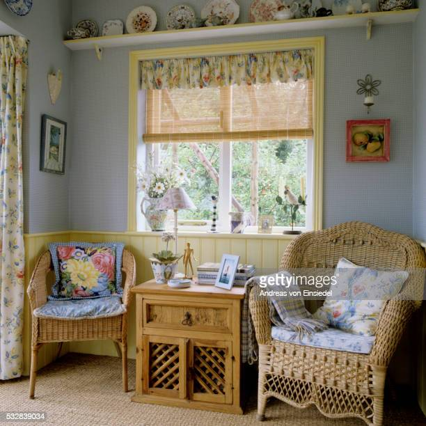 Traditional English country interior